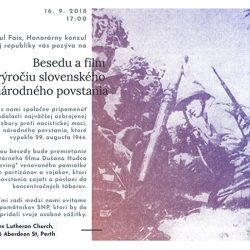 16. 9. 2018 Beseda and film for the SNP anniversary